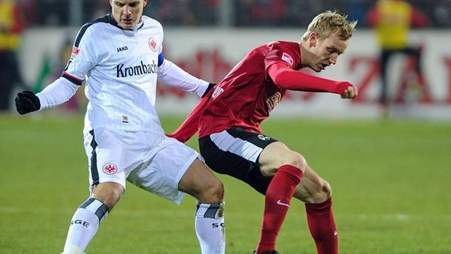 German Bundesliga  - Freiburg draw with Frankfurt