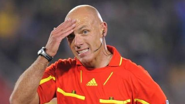 Champions League - El extraordinario palmarés de Howard Webb