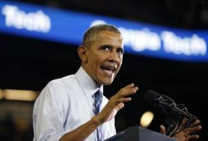 Obama speaks at Georgia Tech about efforts to make college more affordable