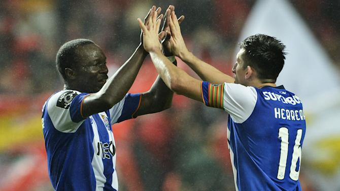 Benfica 1 Porto 2: Herrera, Aboubakar crown memorable derby comeback