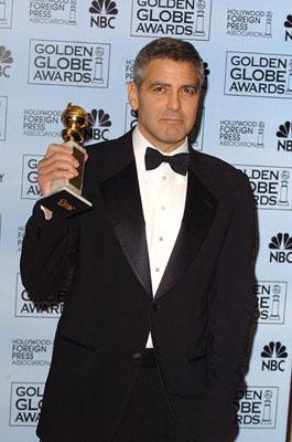 "George Clooney Best Supporting Actor in a Drama - ""Syriana"" 63rd Annual Golden Globe Awards - Press Room Beverly Hills, CA - 1/16/06"