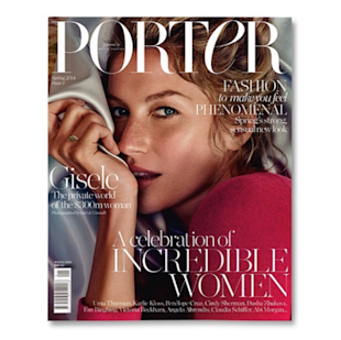 Gisele Bundchen on Porter