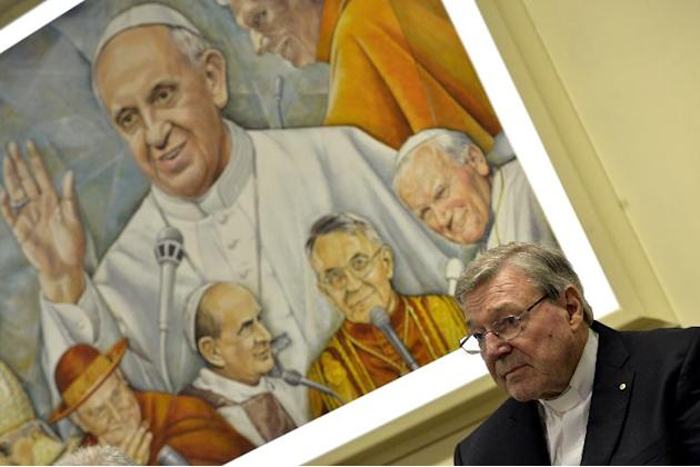 Cardinal George Pell, Pope Francis' finance chief, says he is willing to give evidence at a child abuse inquiry in his native Australia