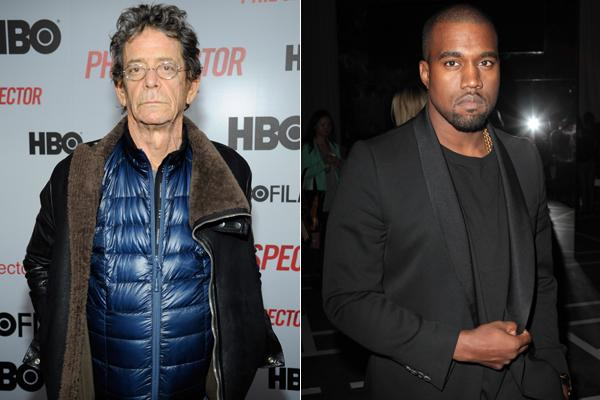 Lou Reed Reviews Kanye West's 'Yeezus'