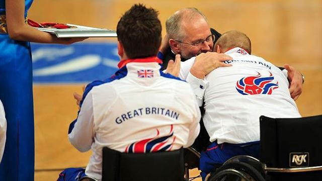 Britain reach Paralympic wheelchair quarters