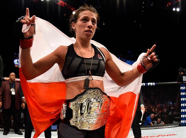Joanna Jedrzejczyk won't be around forever. (Photo by Jeff Bottari/Zuffa LLC/Zuffa LLC via Getty Images)
