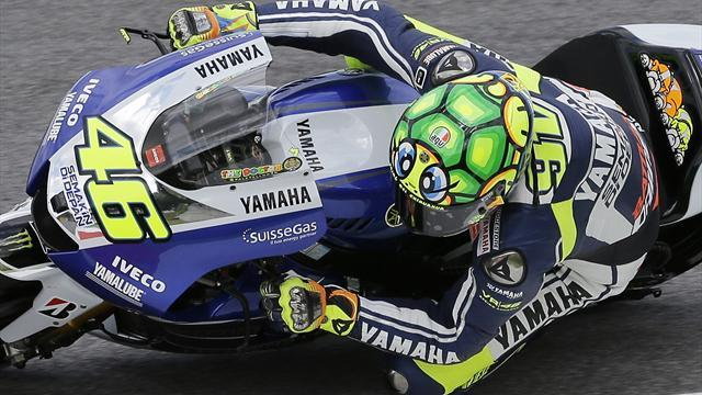 Motorcycling - Rossi targets immediate fightback in Barcelona