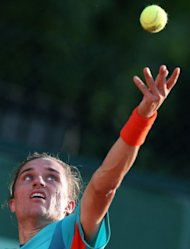 Ukraine's Alexandr Dolgopolov during his French Open match against Ukraine's Sergiy Stakhovsky in May. Dolgopolov will start against Italian Flavio Cipolla at the Washington Open, which starts on Monday