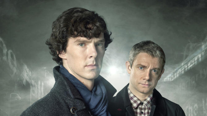 """Outstanding Miniseries/Made for Television Movie: """"Sherlock"""""""