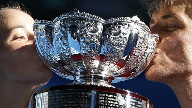 Australian Open - Australian duo win mixed doubles title