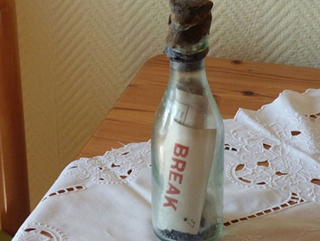World's oldest message in a bottle recovered in Germany (Photo: GrindTV)