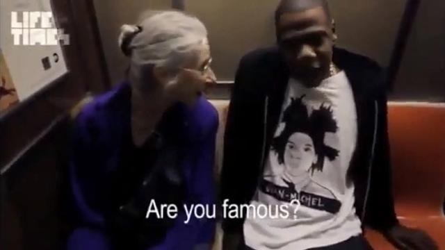 Jay-Z Goes Unrecognized on Subway