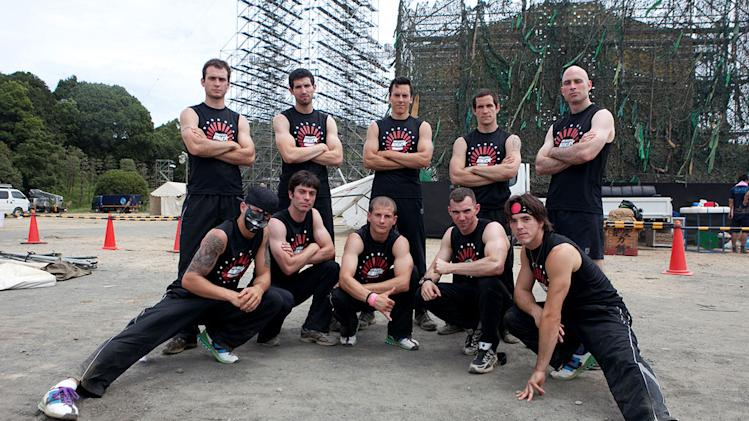 "The cast of ""American Ninja Warrior."""