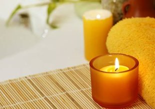 Perk up your day: Light a citrus-scented candle