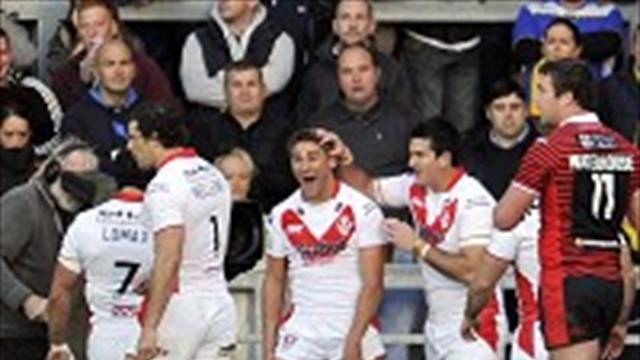 Rugby League - New Saints deal for Makinson