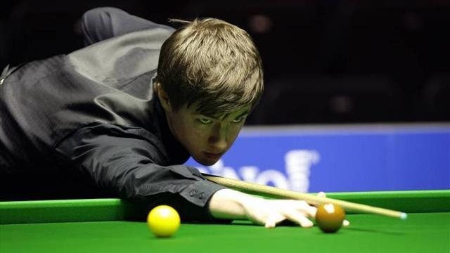 Snooker - Hawkins makes short work of Lisowski to make last 16