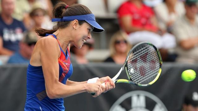 Tennis - Ivanovic beats Venus to claim Auckland title
