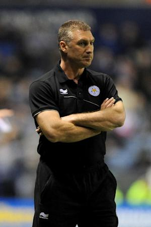 Nigel Pearson saw his Leicester side lose their 100% home record