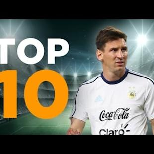 Top 10 Argentina Goalscorers