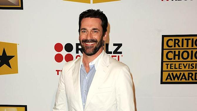Jon Hamm TV Critics Awards