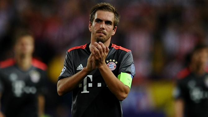 Guardiola: I have a lot of Philipp Lahms at Man City