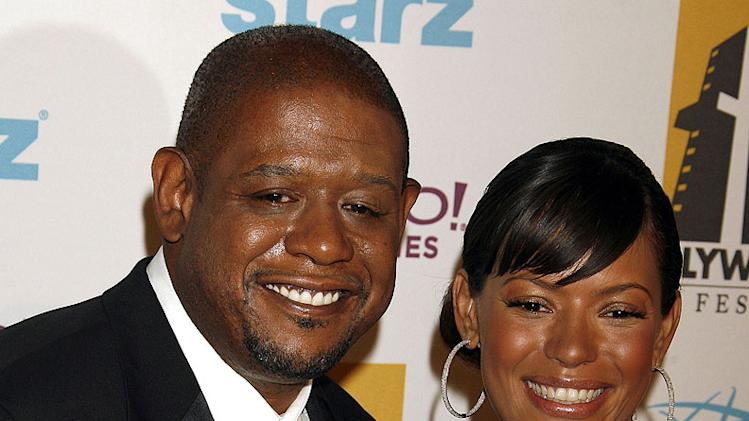 Forest Whitaker and Keisha Whitaker at the Hollywood Film Festival - 10th Annual Hollywood Awards.