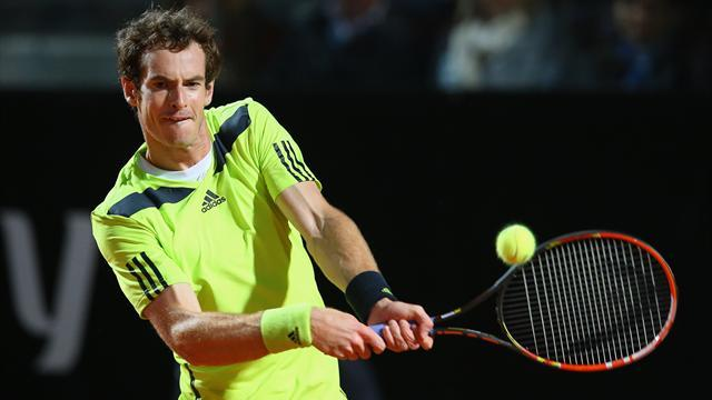 Rome Masters - Murray rues wasting chance to defeat Nadal on clay