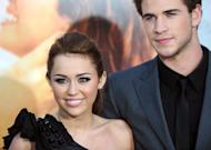 "Actress and singer Miley Cyrus and actor Liam Hemsworth at the premiere of ""The Last Song"" in Hollywood in 2010. Hemsworth has proposed to girlfriend Cyrus, with the pair tweeting their engagement on Thursday"