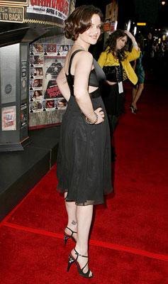 Carla Gugino at the Los Angeles premiere of Dimension Films' Grindhouse