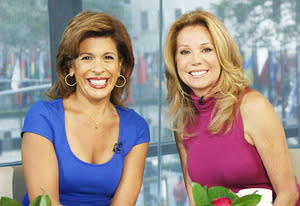 Hoda Kotb and Kathy Lee Gifford | Photo Credits: Eric Leibowitz/NBC