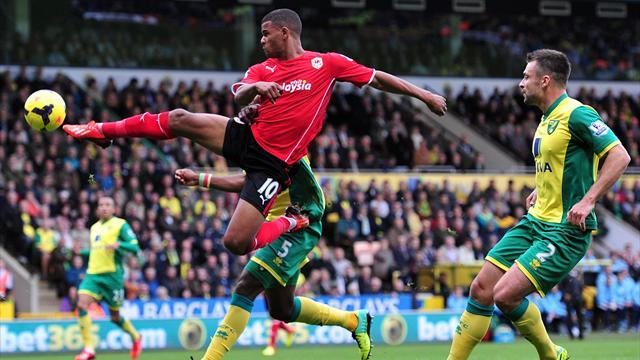 Premier League - Norwich and Cardiff draw blank as game ends in controversy
