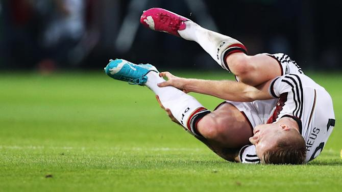 World Cup - Germany's Reus hospitalised in warm-up match