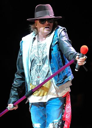 Axl Rose Promises New Guns N' Roses Album 'Sooner' Than 'Chinese Democracy'
