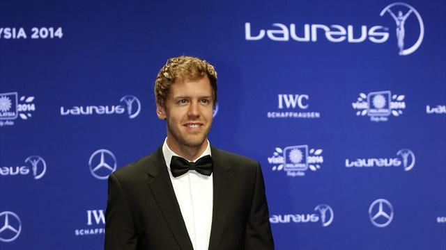 Formula 1 - Vettel and Franklin take Laureus awards