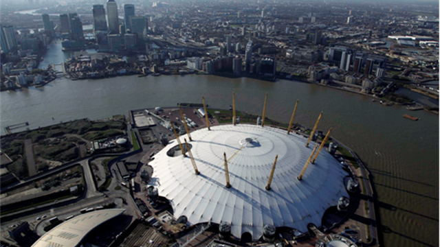 Spectator's View - North Greenwich Arena