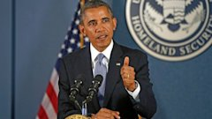 AP barack obama fema homeland meeting shutdown thg 131007 16x9 608 Obama Resists Talks With Boehner Under the Threat of Default