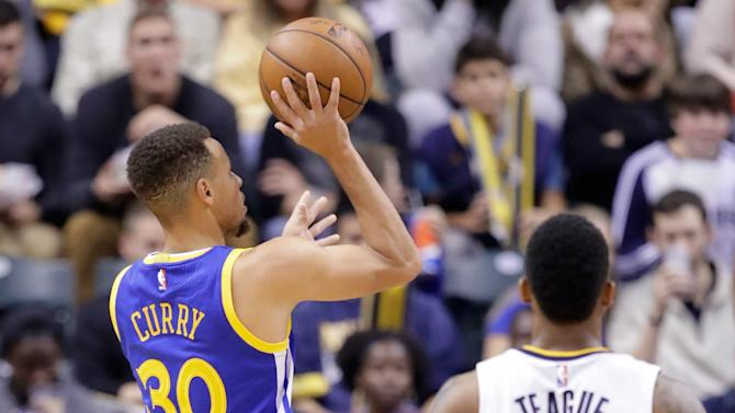 Stephen curry scored 22 points on monday night but his most