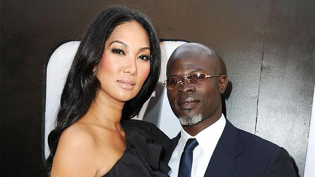 Kimora Lee Simmons & Djimon Hounsou Split