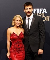 Shakira and Gerard Piqué