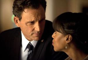Tony Goldwyn and Kerry Washington  | Photo Credits: Randy Holmes/ABC