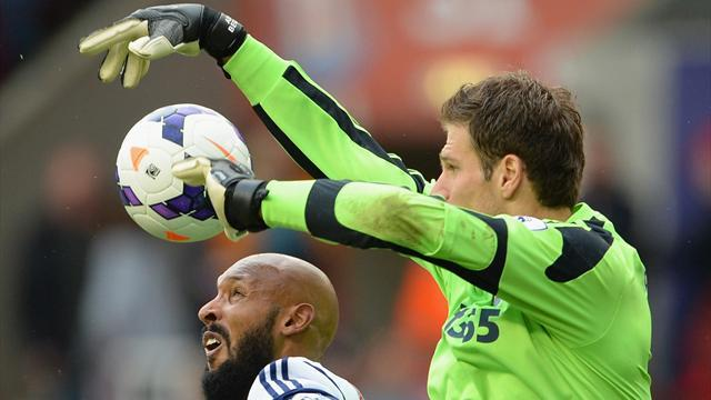 Premier League - Brilliant Begovic foils Baggies