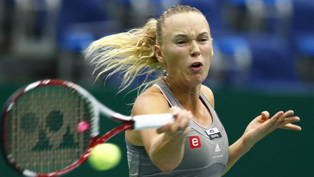 Tennis: Wozniacki, Stosur through in Moscow