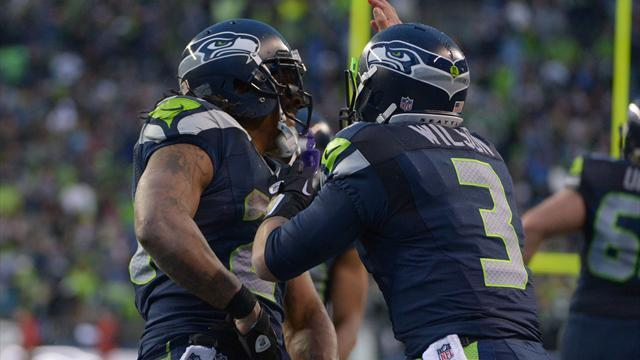 American Football - Seahawks beat Saints to reach conference final