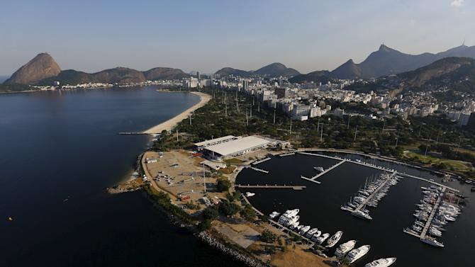 2016 Rio Olympics: Rio from above