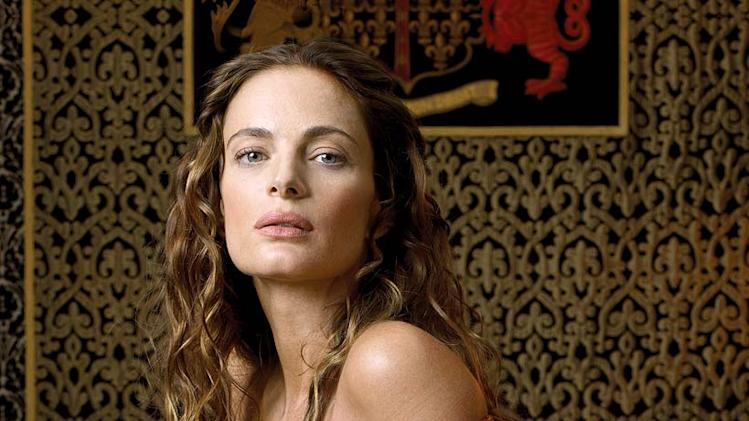 Gabrielle Anwar stars as Princess Margaret Tudor in The Tudors.