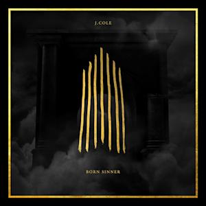 """This CD cover image released by Columbia Records shows """"Born Sinner,"""" by J. Cole. (AP Photo/Columbia Records)"""