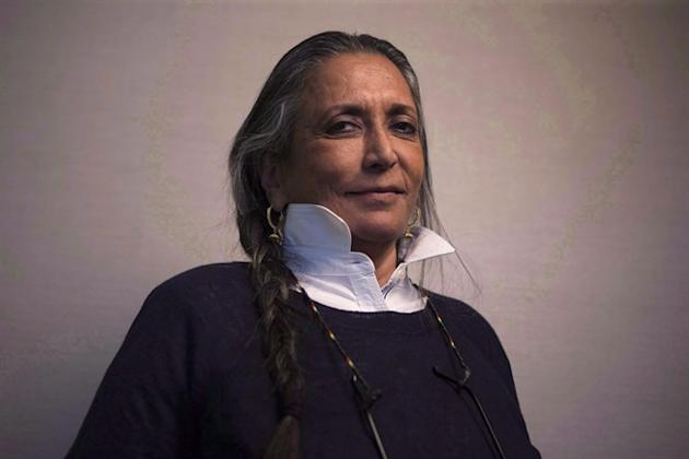 "Director Deepa Mehta is pictured in a Toronto hotel room as she promotes ""Beeba Boys"" during the 2015 Toronto International Film Festival on Monday, Sept. 14, 2014. Mehta is this year's"