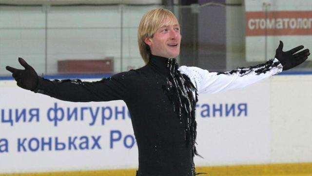 Figure Skating - Ailing Plushenko pulls out of Europeans