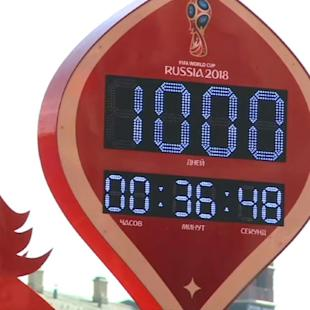 Russia kicks off 1,000-day countdown to 2018 FIFA World Cup