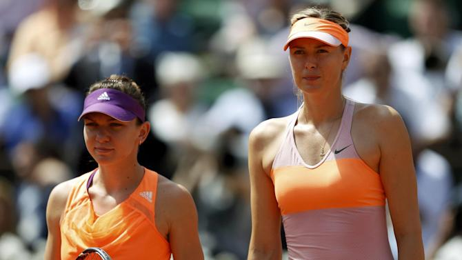 Tennis - Statistics for Sharapova v Halep French Open final